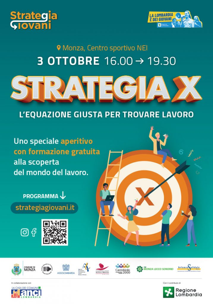Locandina evento strategia X